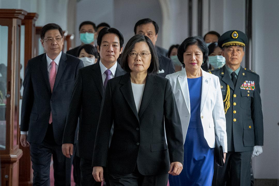 2020年5月20日,台灣第15任總統、副總統宣誓就職典禮。 圖:總統府提供