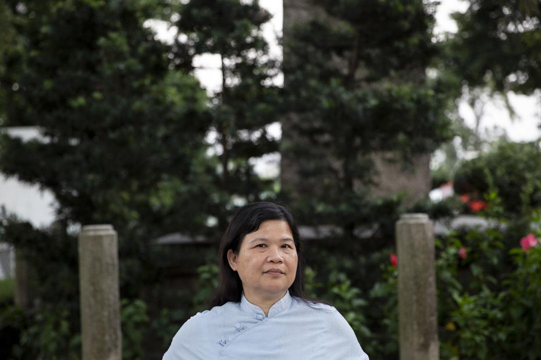 前香港記者協會主席的麥燕庭。