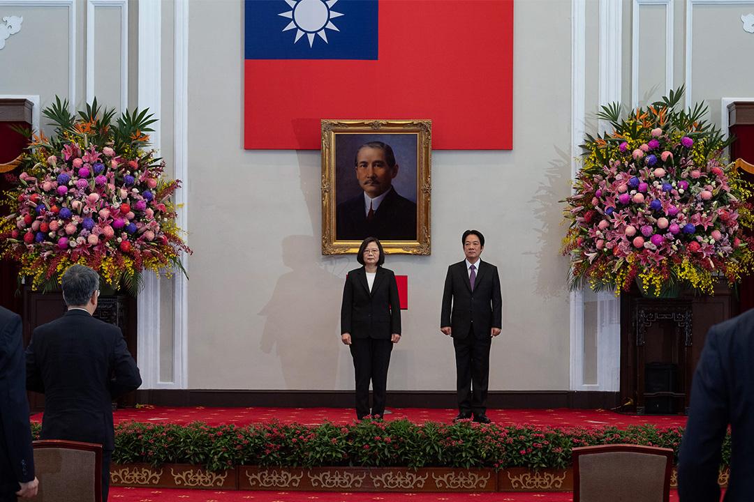 2020年5月20日,台灣第15任總統、副總統宣誓就職典禮。