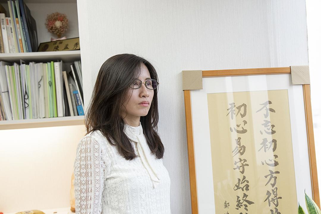 律師陳孟秀。