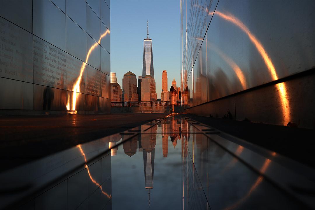 2020年3月7日紐約的黃昏景色。 攝:Gary Hershorn/Getty Images