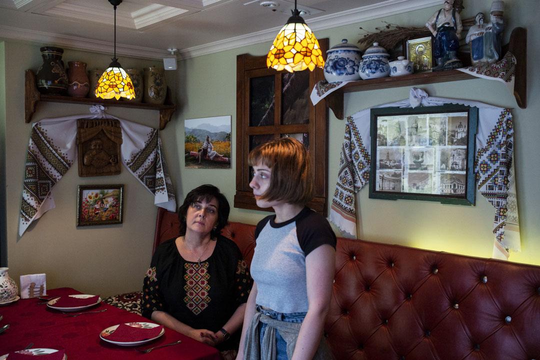 東歐餐廳,由Daniel與媽媽和姊姊一家人一起營運的餐廳。