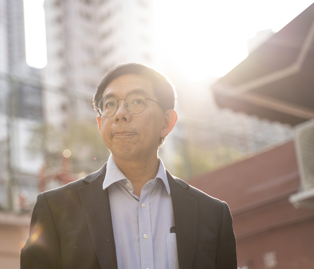 港大精神醫學系主任陳友凱。
