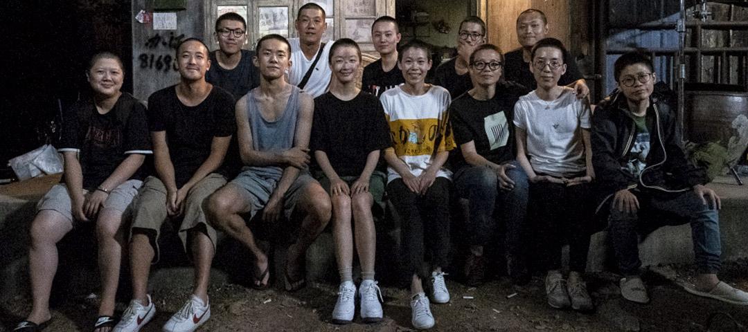 曾國祥與《少年的你》團隊。