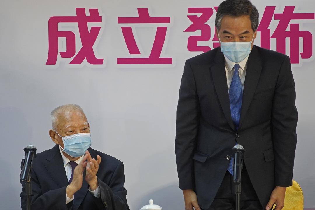 2020年5月5日,董建華和梁振英兩位前特首連同1545名發起人,成立「香港再出發大聯盟」。