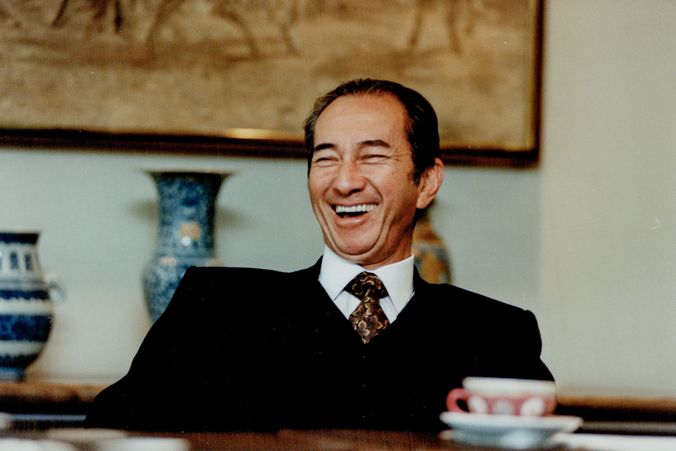 賭王何鴻燊於香港逝世,享年98歲。 攝:Tony Bock/Toronto Star via Getty Images