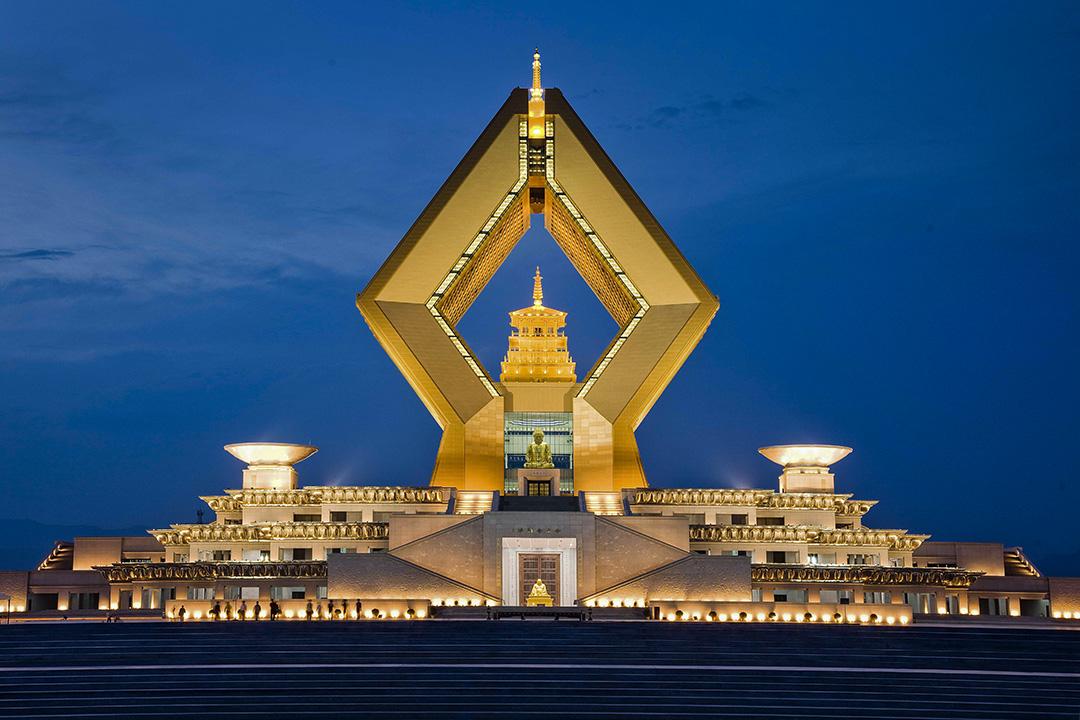中國陝西省法門寺。