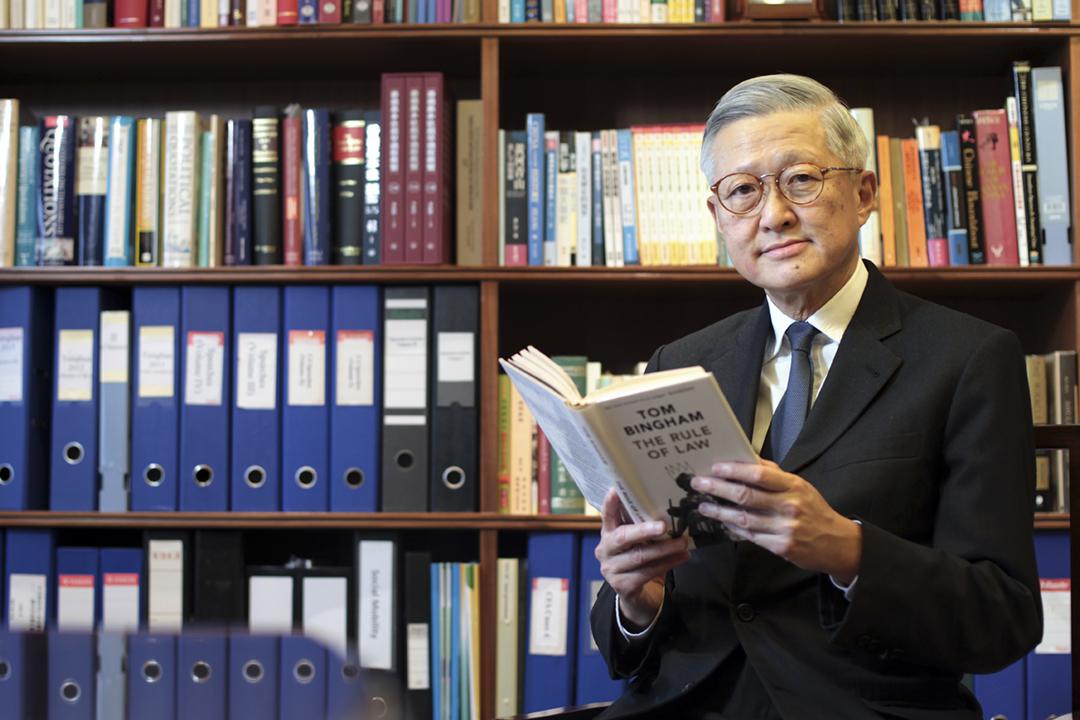 香港終審法院前首席法官李國能。 攝:Bruce Yan / SCMP via Getty Images