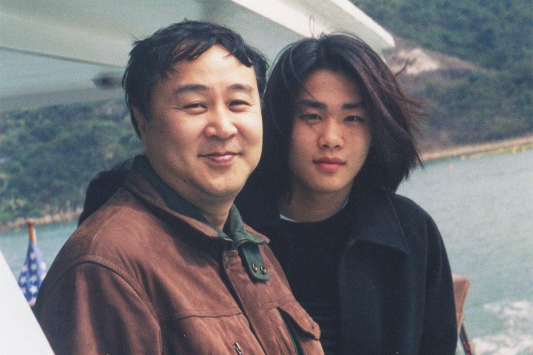 袁弓夷和兒子袁彌昌。
