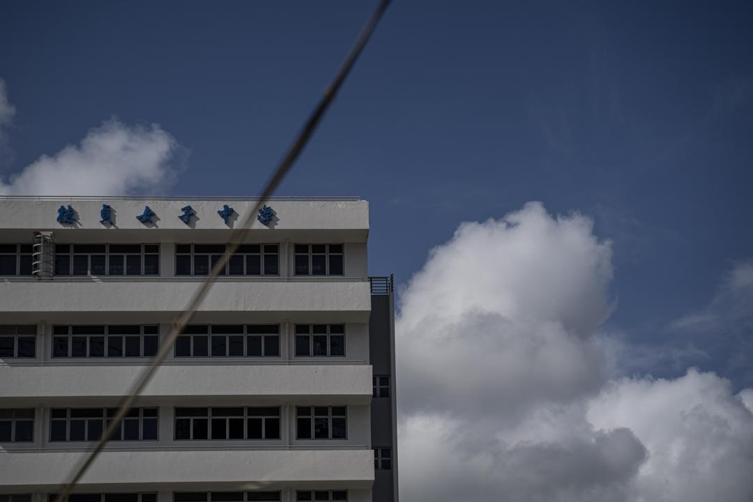 2020年6月23日,德貞女子中學。 攝:林振東/端傳媒