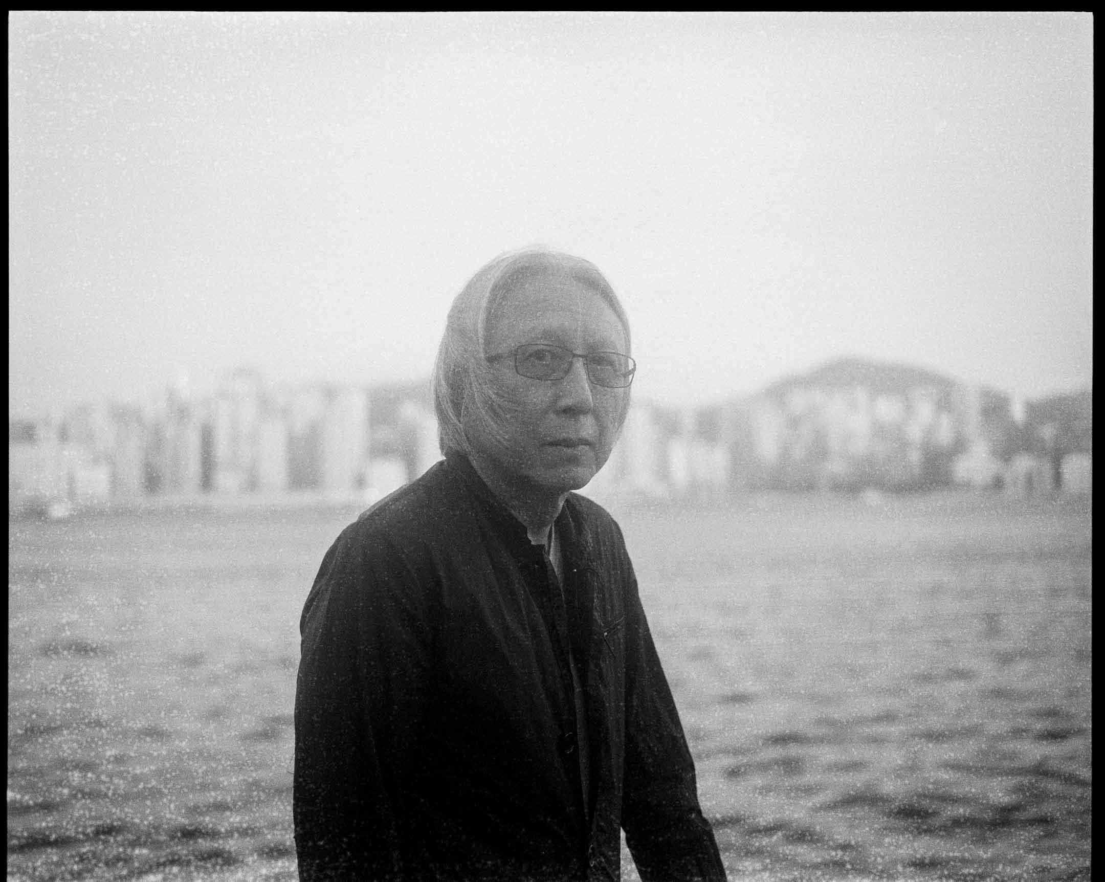 2020年,陳冠中在香港。