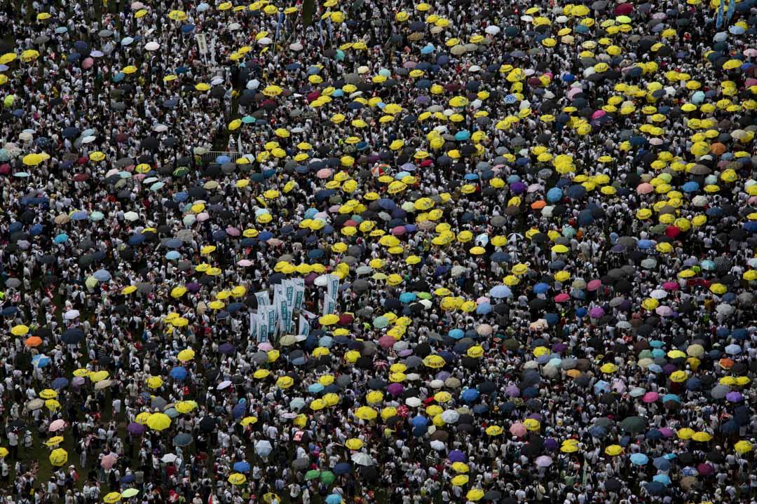 2019年6月9日,民間人權陣線發起反修例大遊行,民陣公佈有103萬人參與,創回歸後歷史新高。