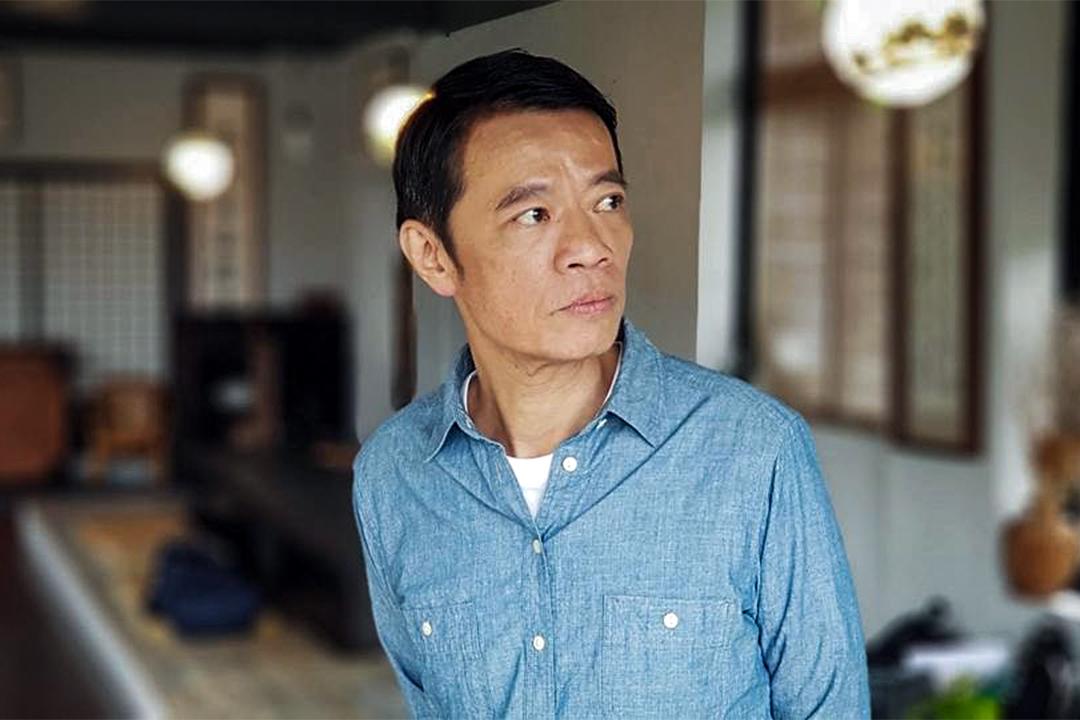 台灣知名演員吳朋奉。 圖:吳朋奉 Facebook