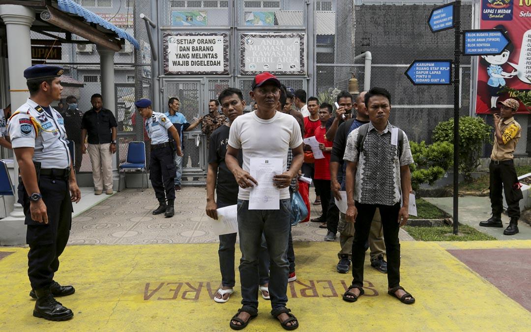 2020年4月2日,印尼蘇門答臘省,為了減少在擁擠的拘留設施中傳播新冠病毒的風險,印度尼西亞共釋放了22158名囚犯。