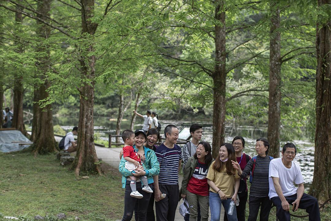星期日的福山植物園。