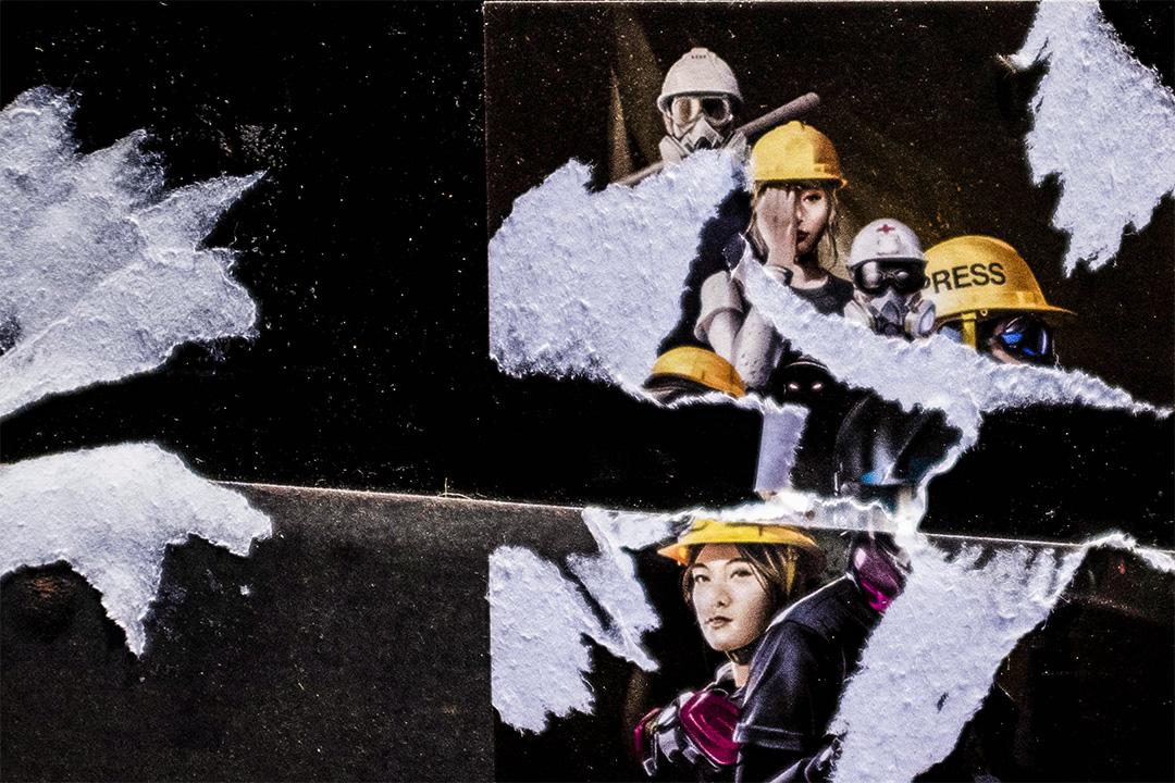 旺角「黃店」辛安東元祖奶奶雞昔日連儂牆的痕跡。