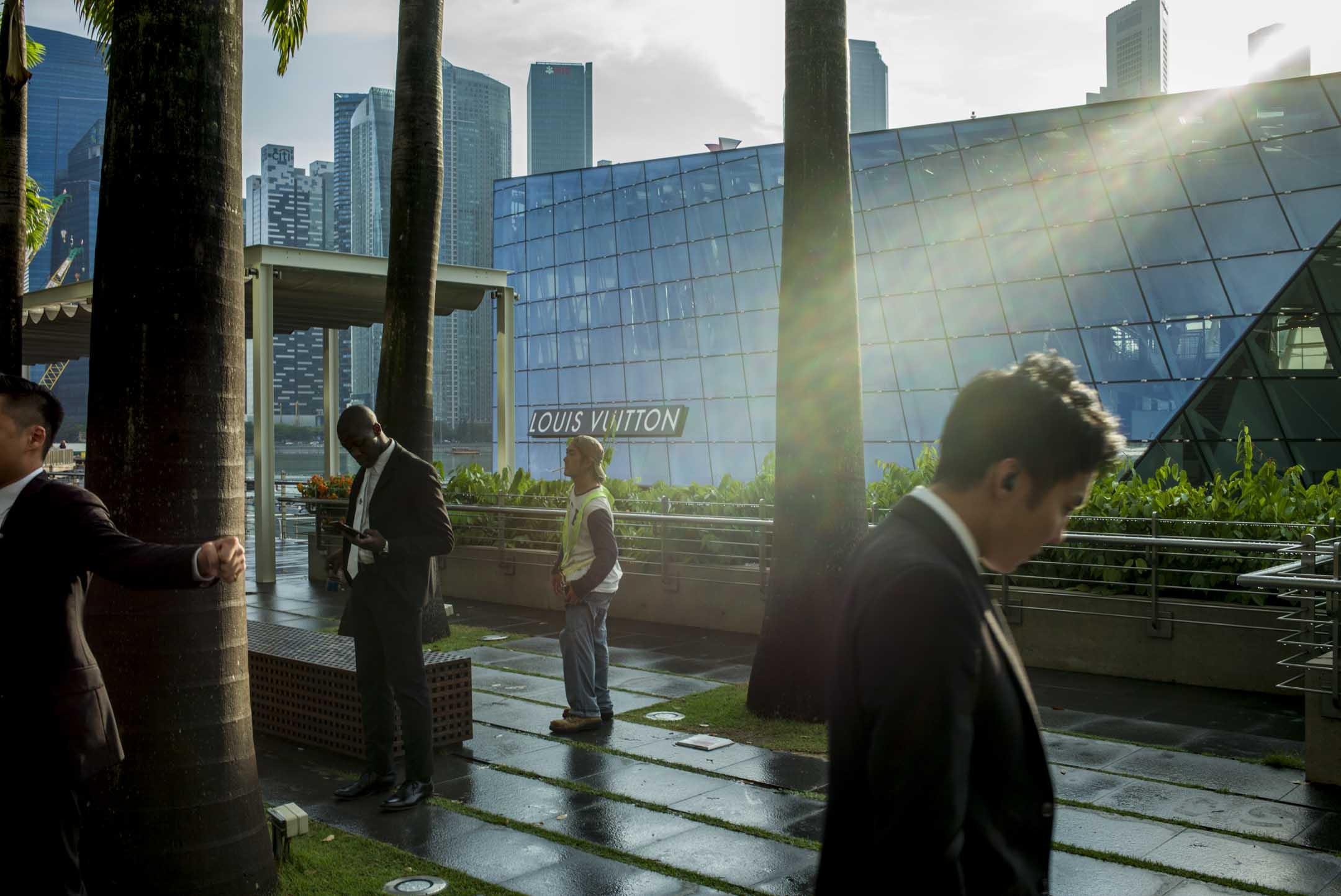 2019年4月4日,新加坡商業區。 攝:林振東/端傳媒