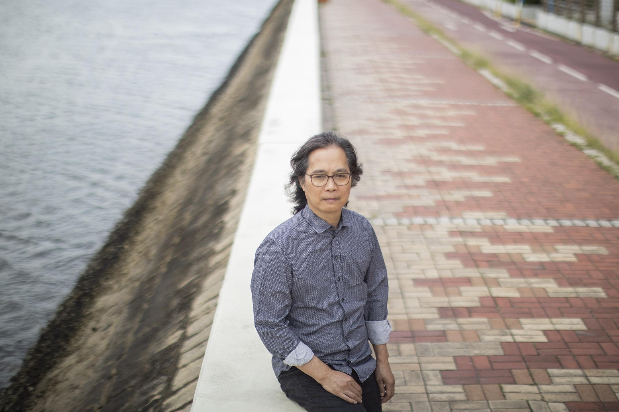 香港中文大學新聞及傳播學院退休教授馬傑偉。 攝:陳焯煇/端傳媒