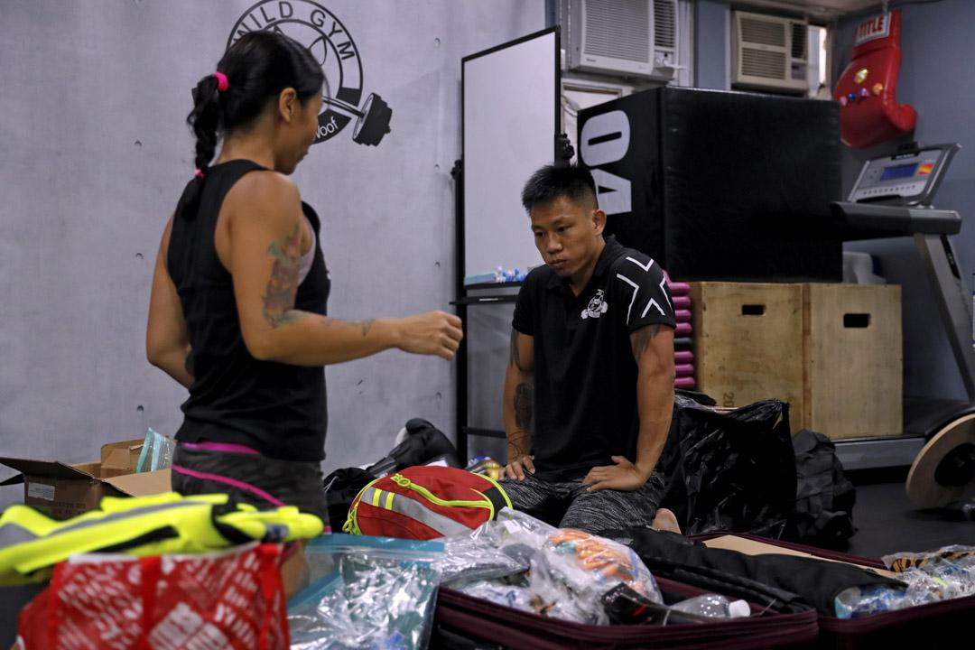 2020年7月20日,二人曾計劃把共同經營的健身中心,交給好朋友接手經營,並回到中心整理拳套入箱。