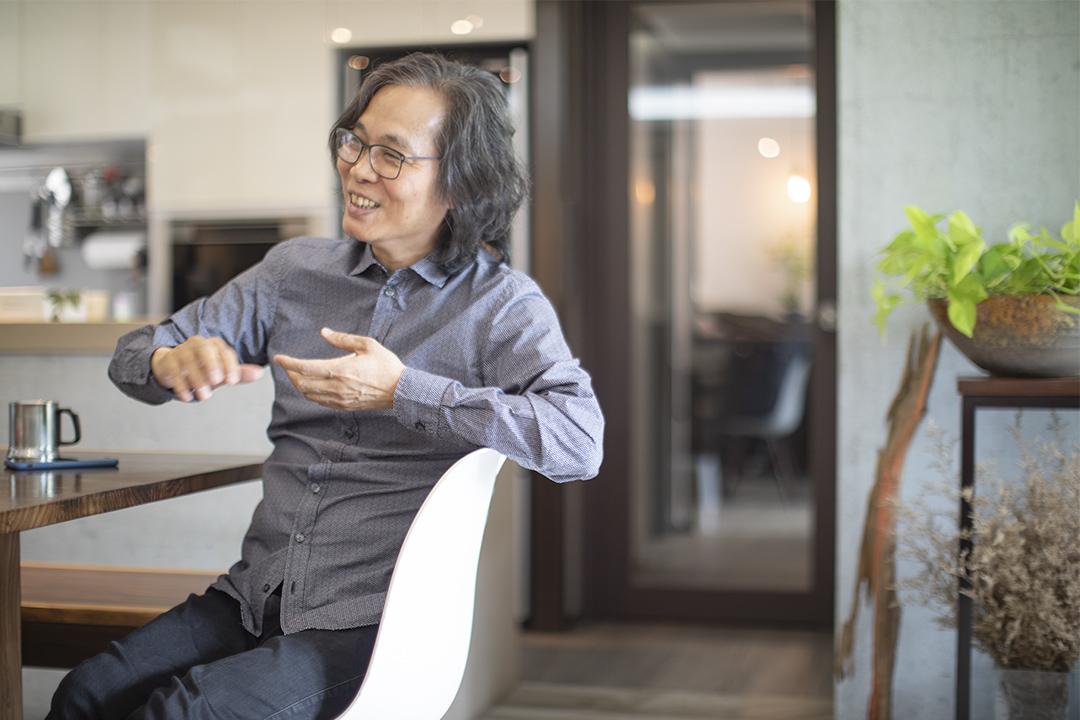 香港中文大學新聞及傳播學院退休教授馬傑偉。