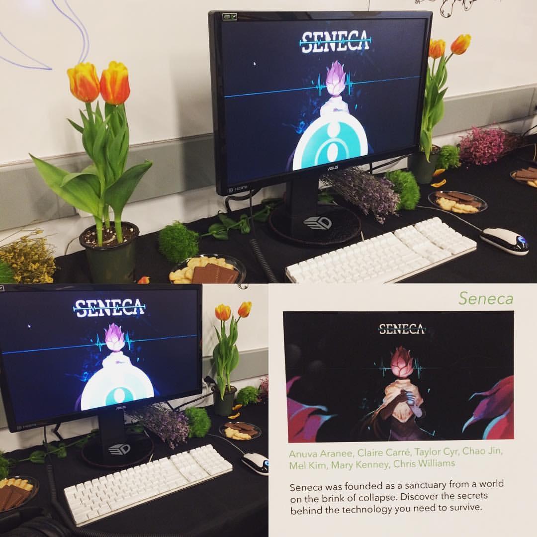 Game Studio 作業 Seneca