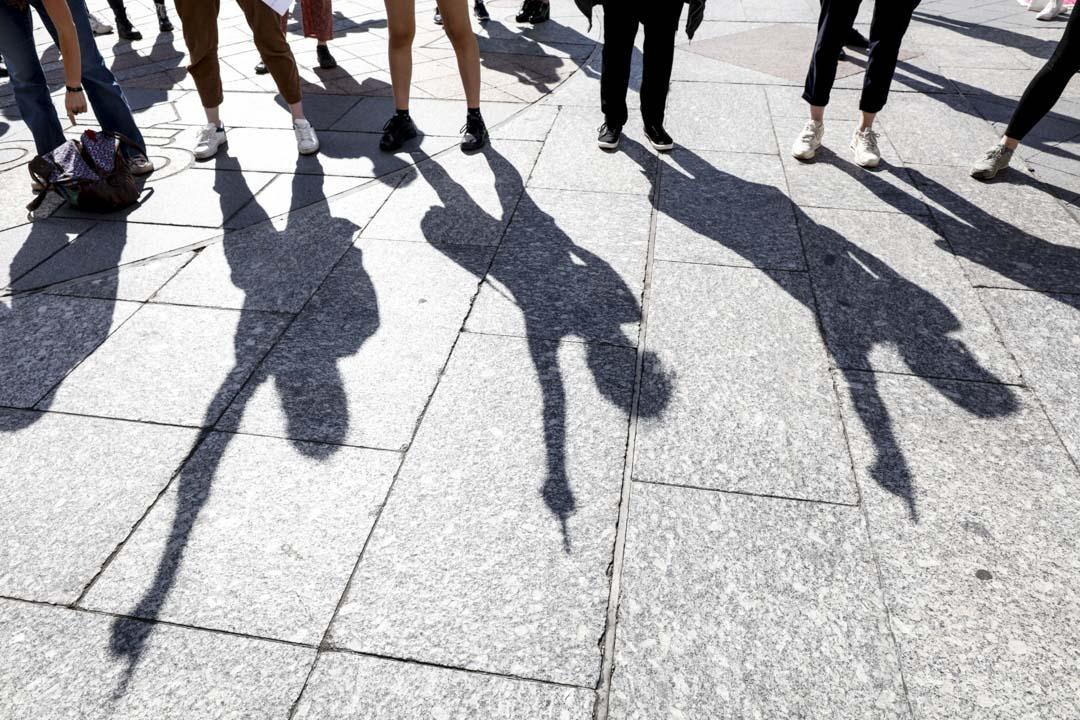 2020年7月10日,法國巴黎一個爭取女權的請願。 攝:Mehdi Taamallah/NurPhoto via Getty Images