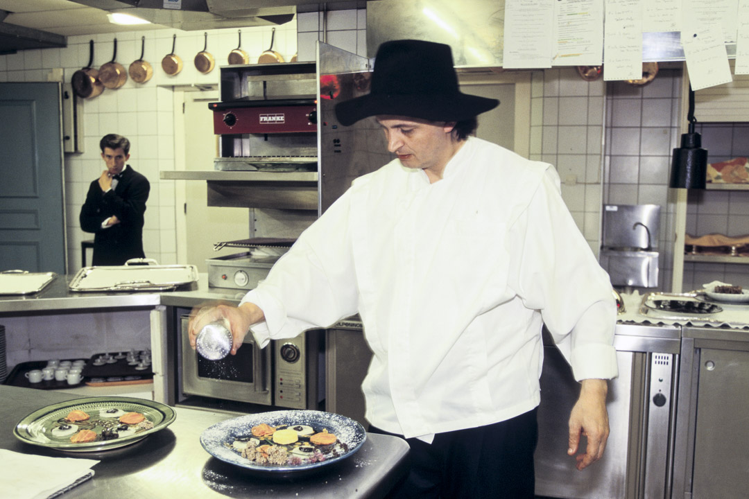 1995年3月6日,名廚維拉(Marc Veyrat)。