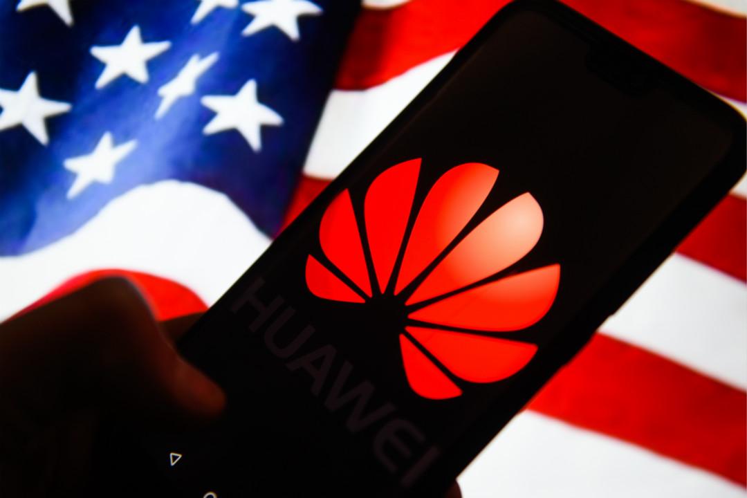 2020年7月15日,美國國務卿蓬佩奧(Mike Pompeo)宣布,禁止華為等中國科技公司部分員工入境美國。 攝:Getty Image