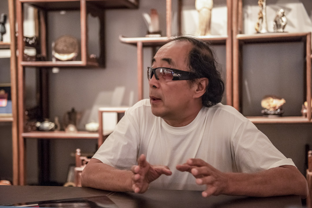 2020年7月1日,北京市昌平區香堂村,邵新接受採訪。