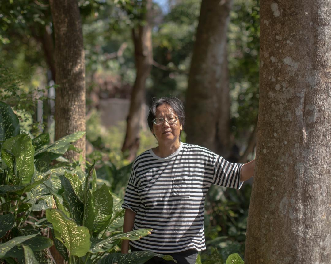 土沉香生態及文化保育協會總幹事何佩嫻。