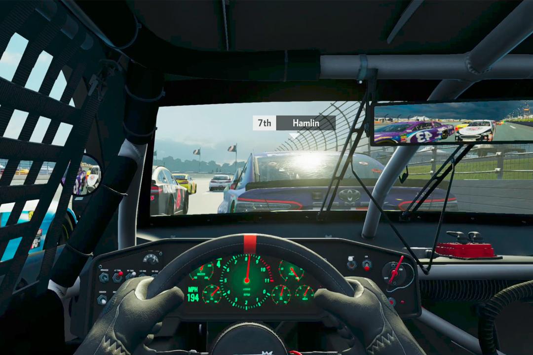 《雲斯頓賽車熱力4》。