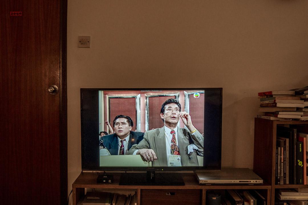 TVB電視劇《大時代》(1991)。 攝:林振東/端傳媒