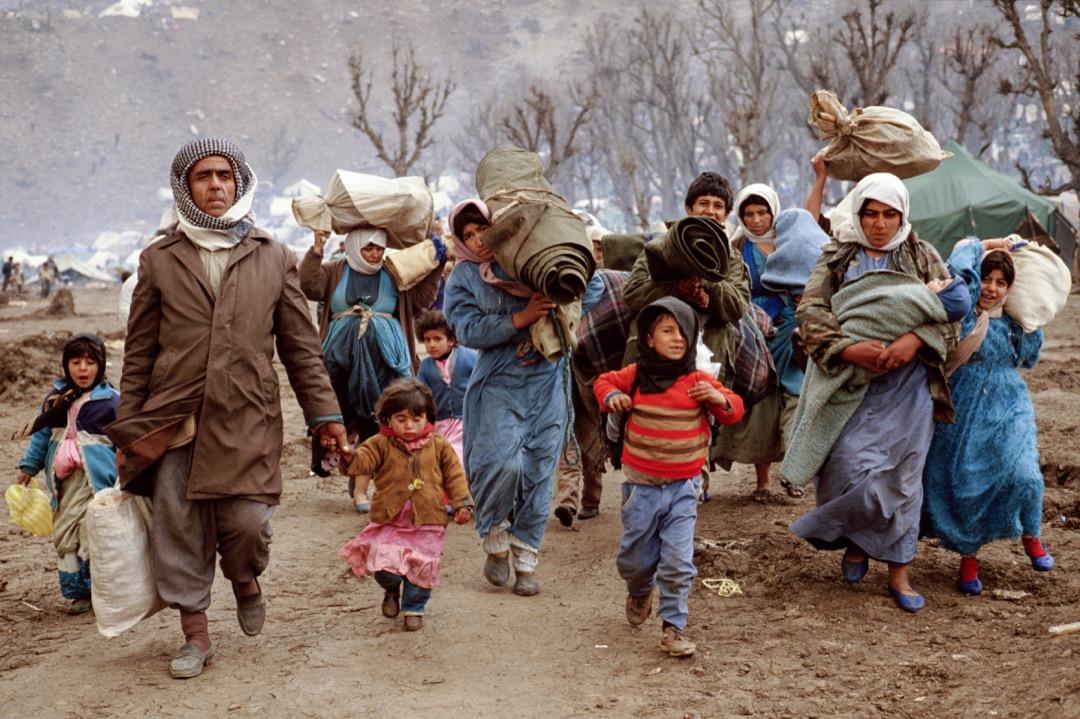 1979年伊斯蘭革命,1980土耳其政變,1980至1988的兩伊戰爭,以及針對庫爾德人的種族滅絕行為安法爾屠殺等都成為庫爾德人前往歐洲的重要因素。