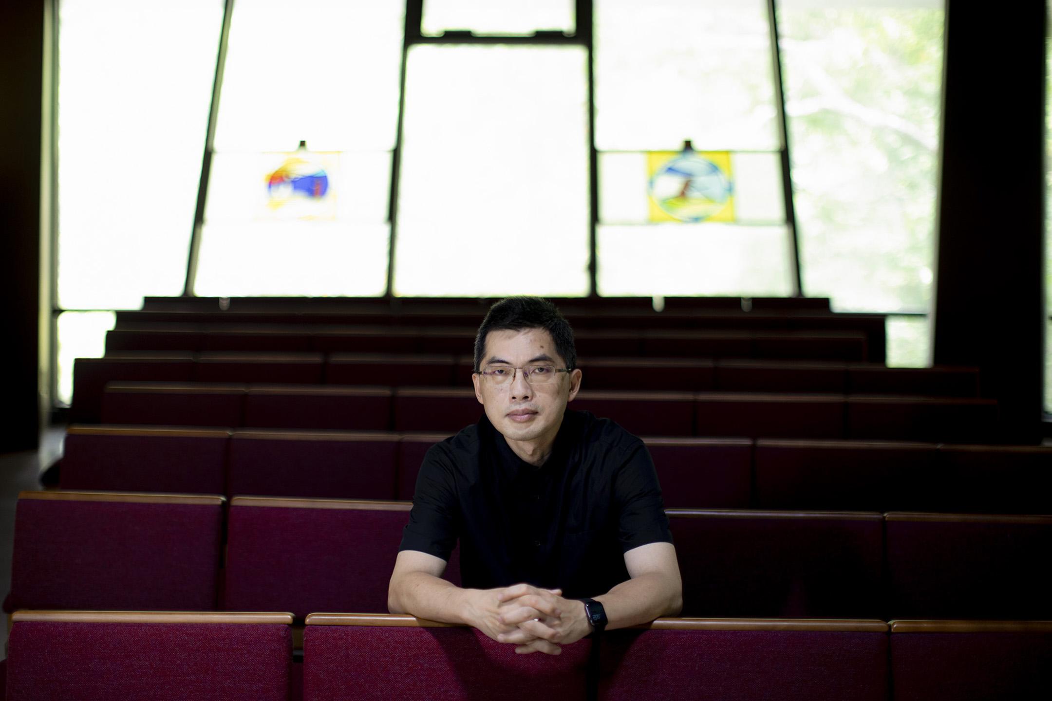 邢福增教授。  攝:陳焯煇/端傳媒
