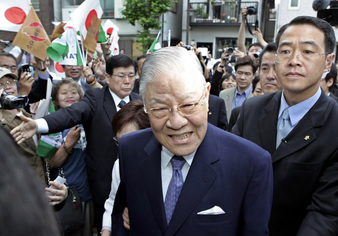 2007年5月31日,台灣前總統李登輝訪問日本東京。