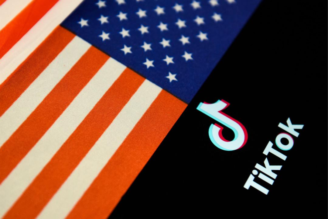 2020年7月31日,美國總統特朗普宣布,將下令禁止 Tiktok 在美國運營。 攝:Getty Images