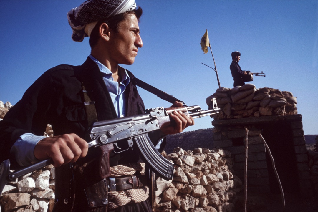 庫爾德「自由鬥士」游擊隊。