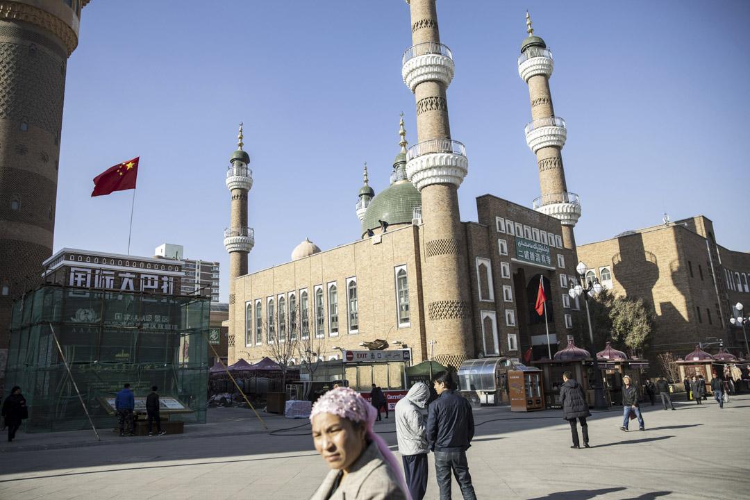 2018年11月6日,新疆維吾爾自治區,烏魯木齊天山區二道橋清真寺。