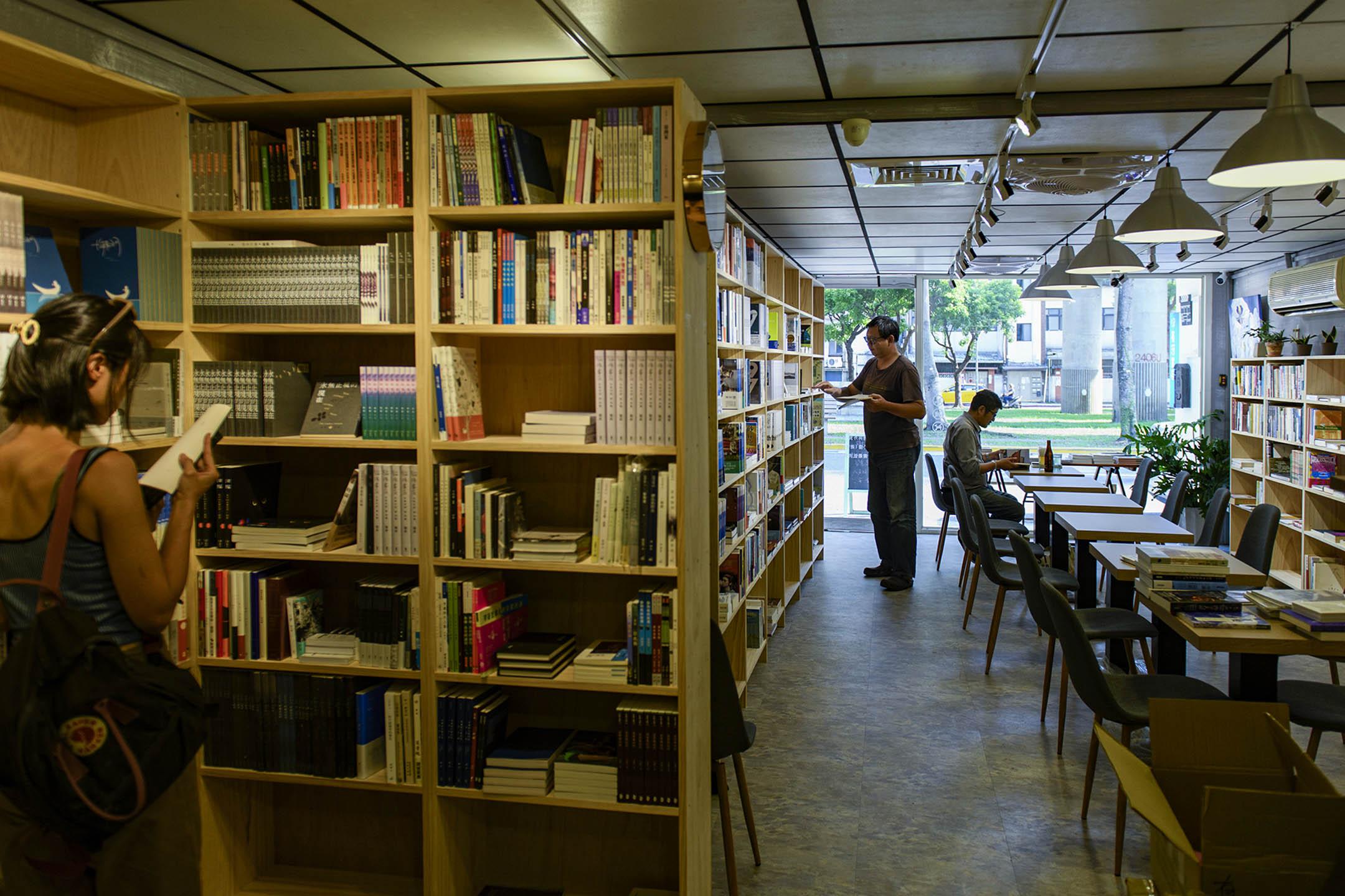 台灣有河書店。 攝:李昆翰/端傳媒