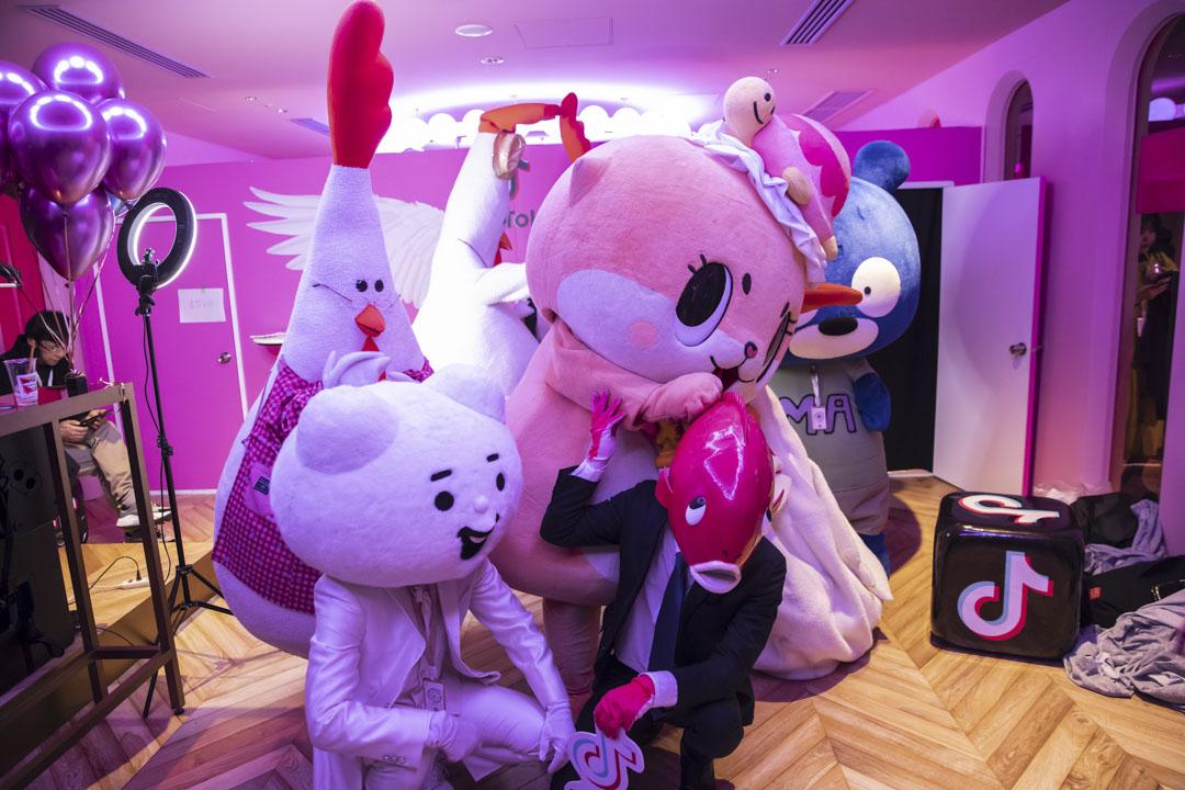 2019年2月16日,日本東京舉辦的TikTok Creator實驗室活動。 攝: Shiho Fukada/Bloomberg via Getty Images