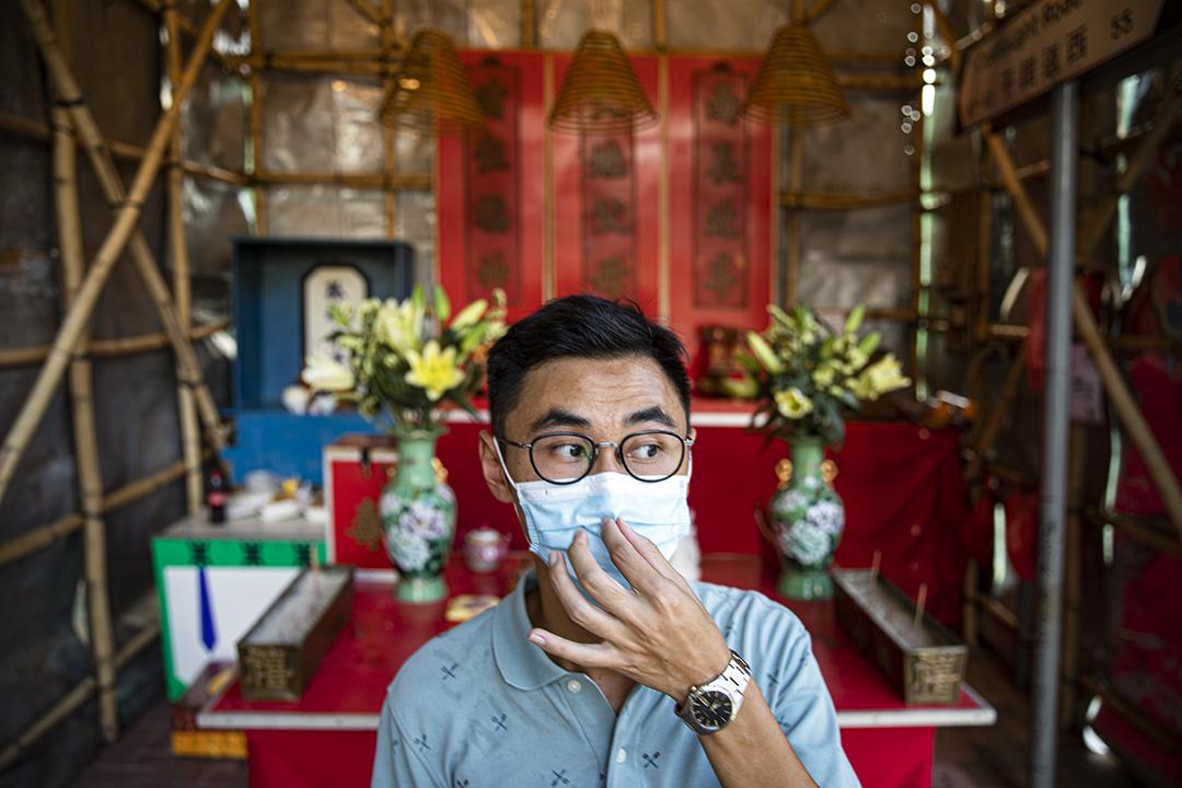 「程尋香港」創辦人溫佐治。