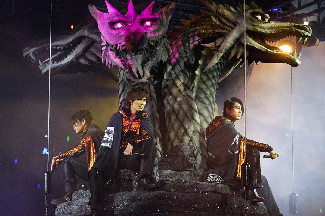 2006年3月22日,曾演出《流星花園》台灣流行樂團F4的成員在香港舉行演唱會。