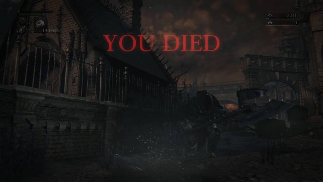 《血源詛咒》Game Over