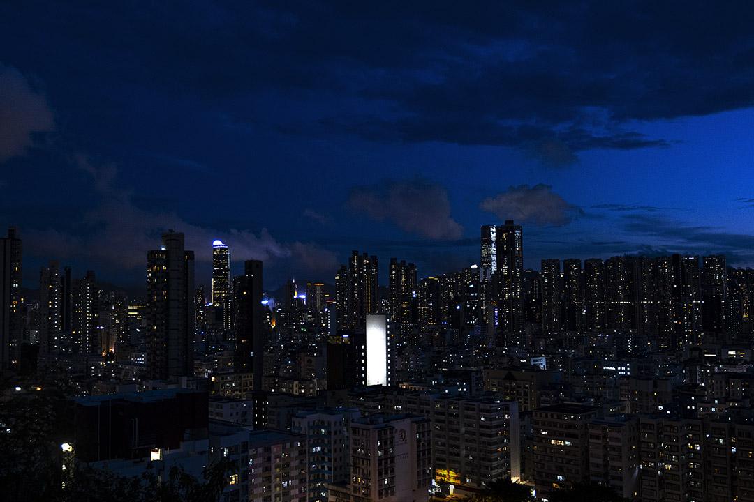 2020年9月12日,九龍夜景。 攝:陳焯煇/端傳媒