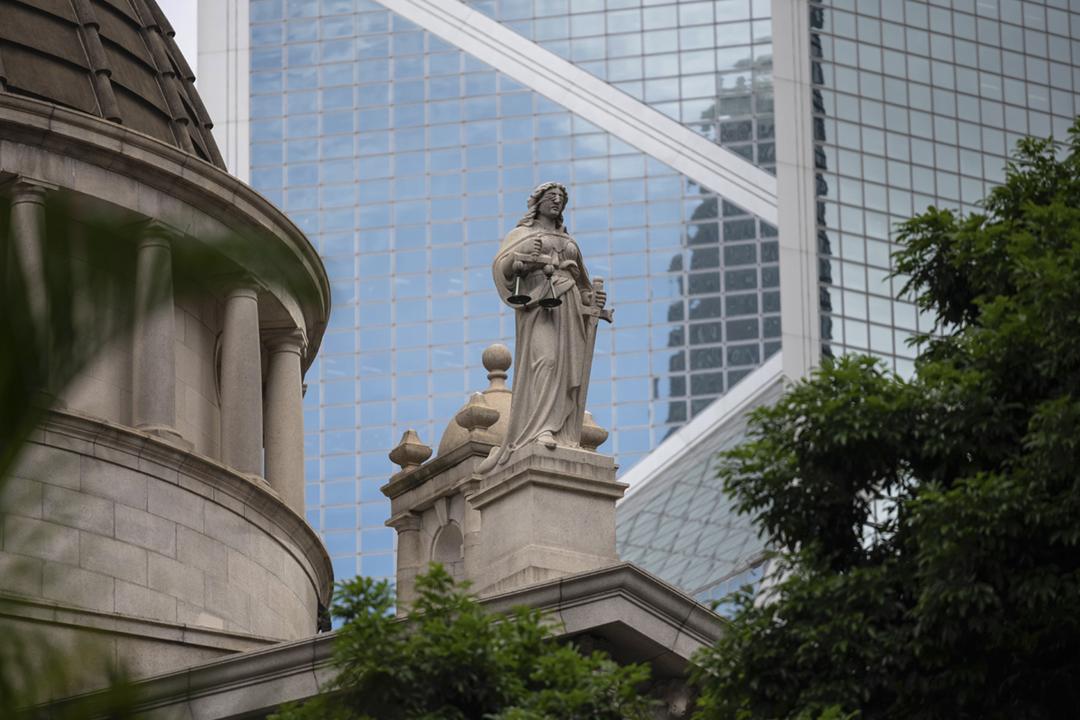 2020年9月1日,香港特首林鄭月娥宣稱「香港沒有三權分立」。圖為香港終審法院大樓。 攝:Billy H.C. Kwok / Bloomberg via Getty Images