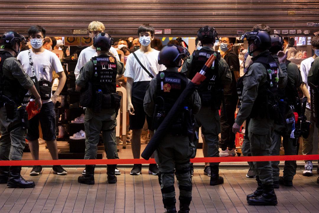 2020年9月6日,市民於九龍佐敦至旺角一帶進行遊行,警方出動2000名防暴警員在周邊布防和截查,至少289人被捕。