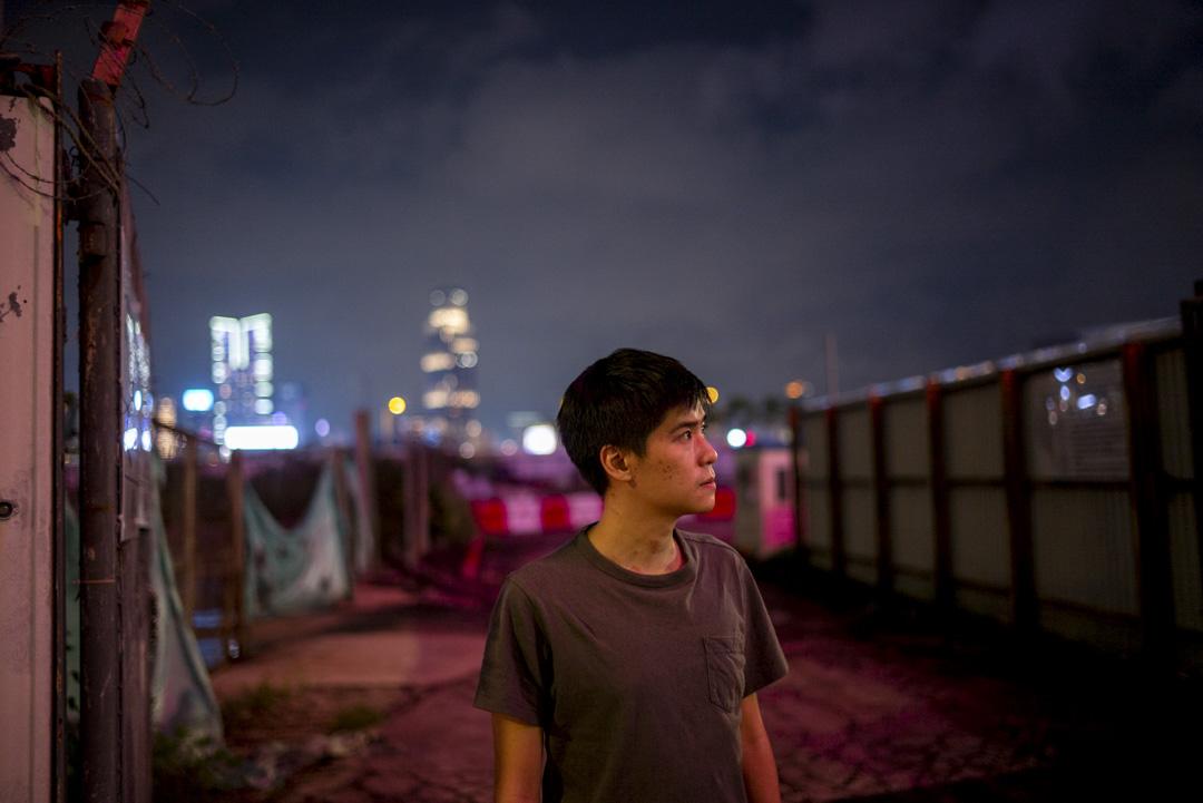 2020年9月,岑敖暉在金鐘。