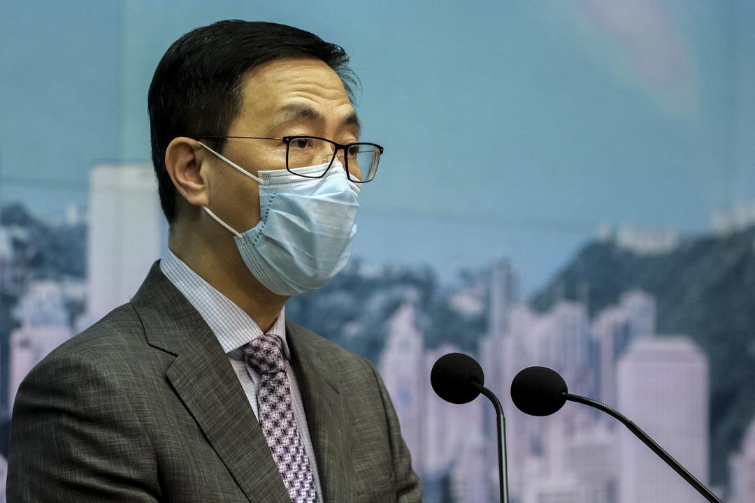 2020年8月31日,教育局局長楊潤雄指出香港沒有三權分立是事實,須於教科書上表明。