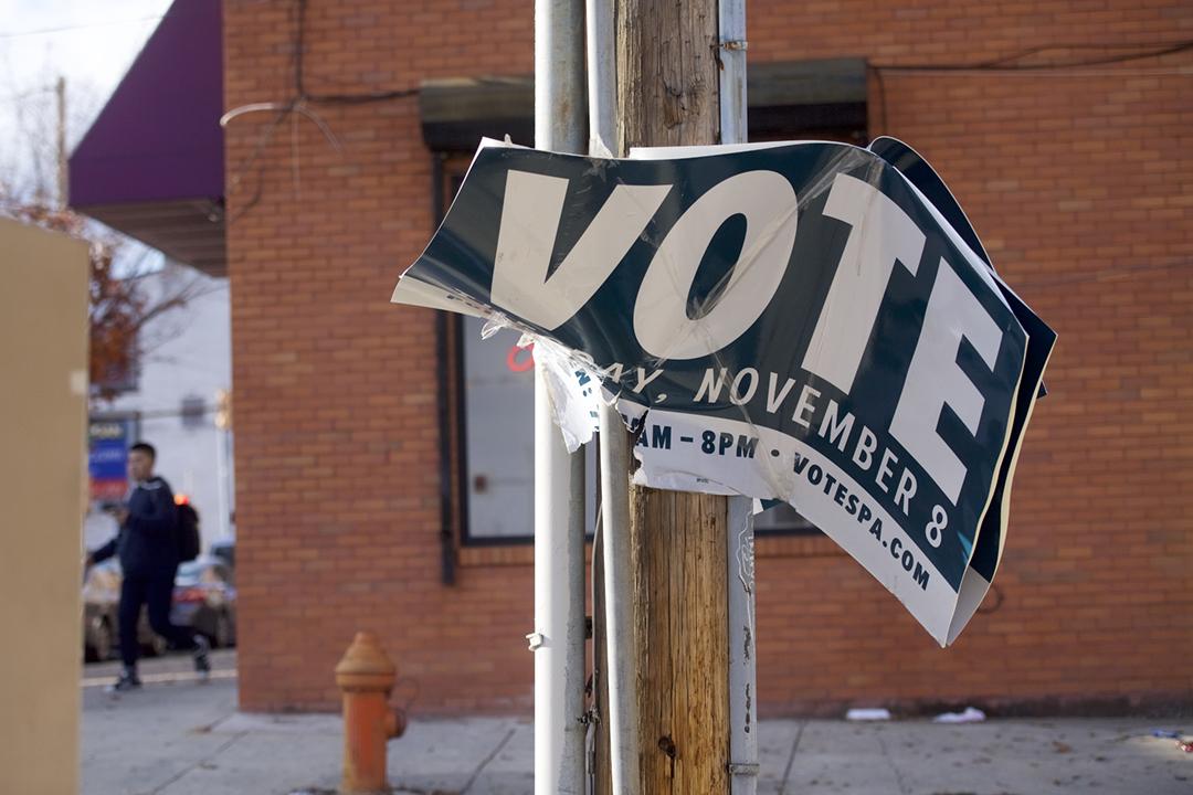 英國第四頻道(Channel 4)發表調查報導,揭露特朗普在去屆大選採取「壓抑策略」,以社媒廣告勸阻非裔選民投票。 攝:Mark Makela / Getty Images