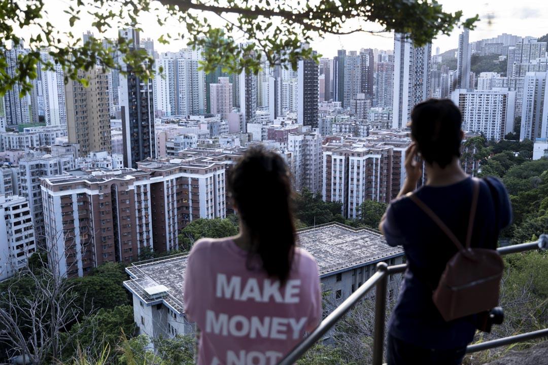 2020年,香港。